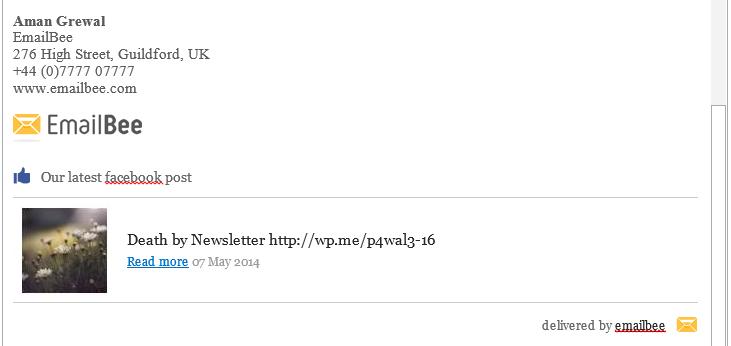 signature - emailbee